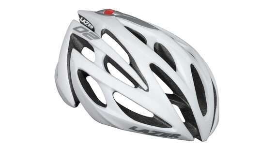 Lazer O2 Helm mat white